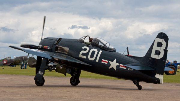 Grumman F8F Bearcat (fot. Tony Hisgett)