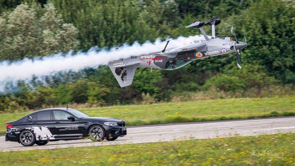 Artur Kielak - XtremeAir Sbach 300 (SP-EED) (fot. Michał Banach)