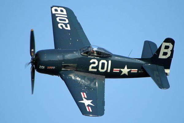 Grumman F8F Bearcat (fot. Tom Felce)