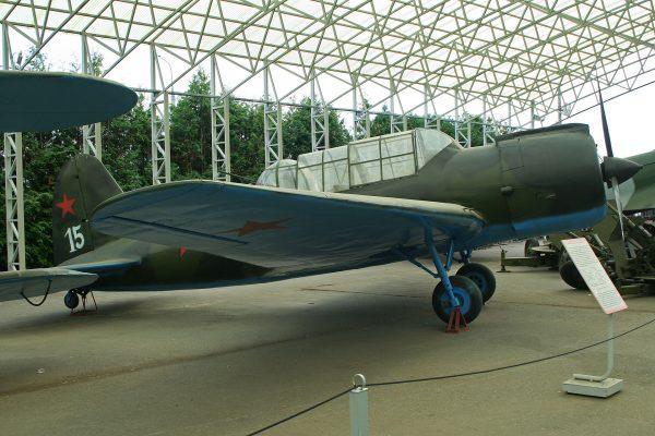 Współczesna makieta Suchoja Su-2 (fot. Alan Wilson)