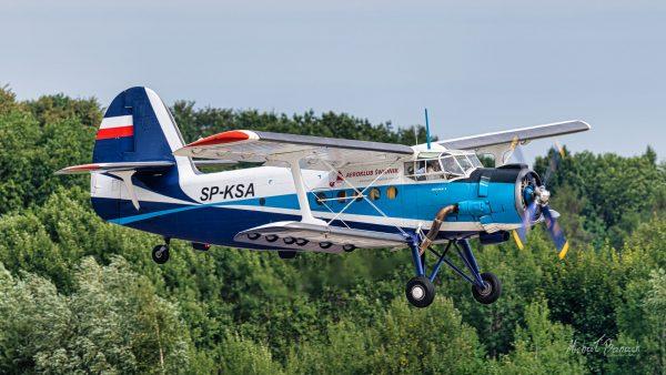 Antonov An-2 (SP-KSA) (fot. Michał Banach)