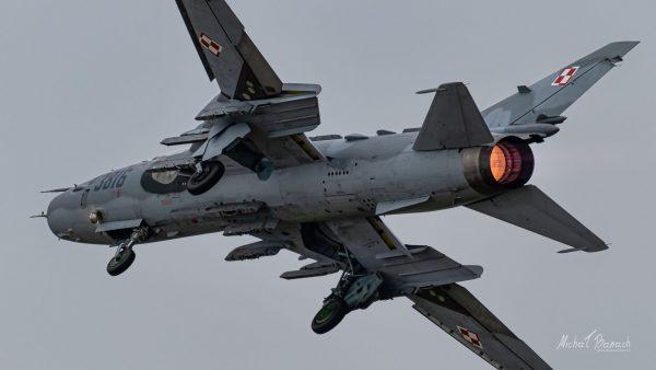 Sukhoi Su-22M4 (3816) (fot. Michał Banach)