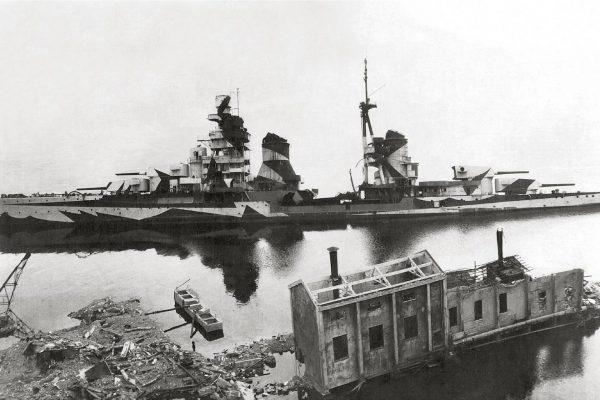 Wrak krążownika Gorizia