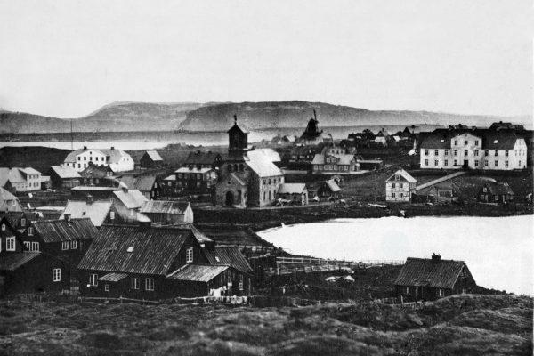 Reykjavík w 1860 roku