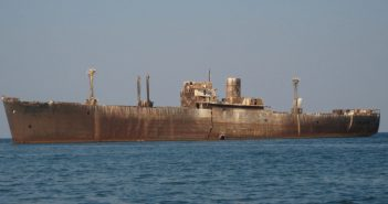 Wrak MV E Evangelia u wybrzeży Rumunii