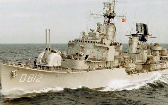 Niszczyciele typu Friesland - z Holandii do Peru