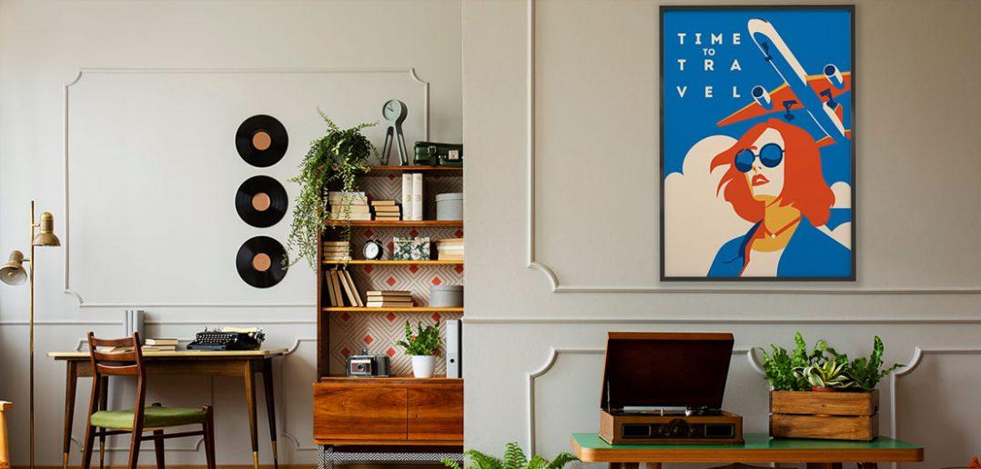 Plakaty z kobietą – dekoracja, która zmieni oblicze mieszkania