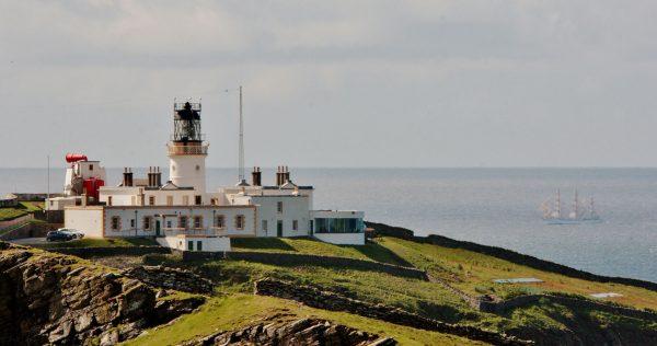 Latarnia morska Sumburgh Head (fot. Ronnie Robertson)