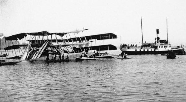 Wrak Caproni Ca.60 Transaereo