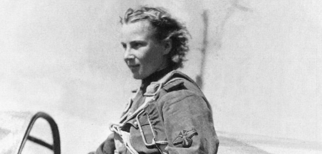 Lidija Litwiak i Jekaterina Budanowa - jedyne kobiety asy myśliwskie