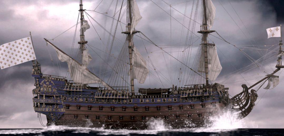 Soleil Royal - legendarny okręt flagowy Ludwika XIV