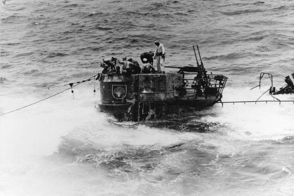 U-505 po zdobyciu