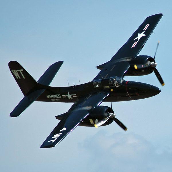 Grumman F7F Tigercat (fot. Wikimedia Commons)