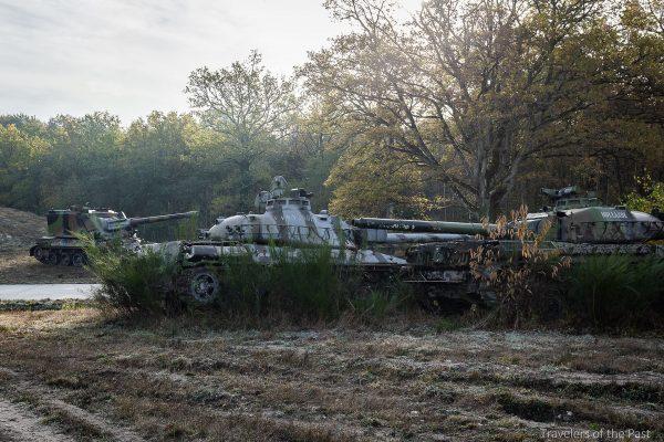 AMX-30 gdzieś we Francji (fot. Alan Lenaerts)