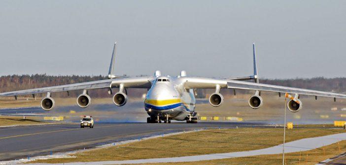 Antonow An-225 Mrija – największy samolot transportowy na świecie