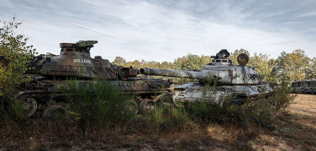 Zapomniany sprzęt wojskowy w obiektywie Travelers Of The Past