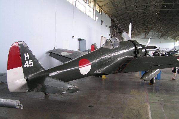 Nakajima Ki-43 (fot. Davidelit/Wikimedia Commons)
