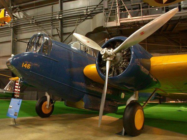 Martin B-10 współcześnie (fot. Greg V. Goebel)