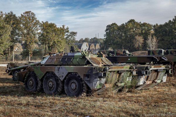 AMX-10RC gdzieś we Francji (fot. Alan Lenaerts)
