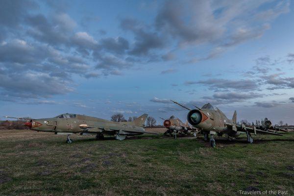 Su-22 obok bazy Pápa (fot. Alan Lenaerts)