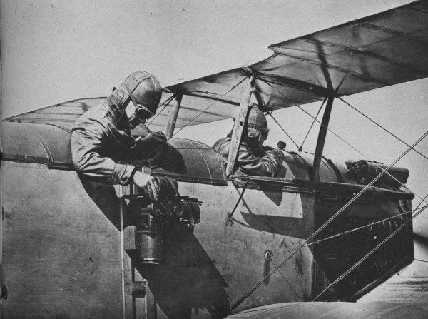 Fotografia lotnicza podczas I wojny światowej