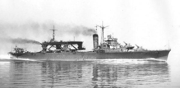 Chitose jako transportowiec wodnosamolotów