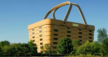"""Longaberger Basket Building - największy """"koszyk"""" na świecie"""