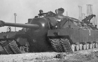 T28 Super Heavy Tank - amerykański super ciężki czołg szturmowy