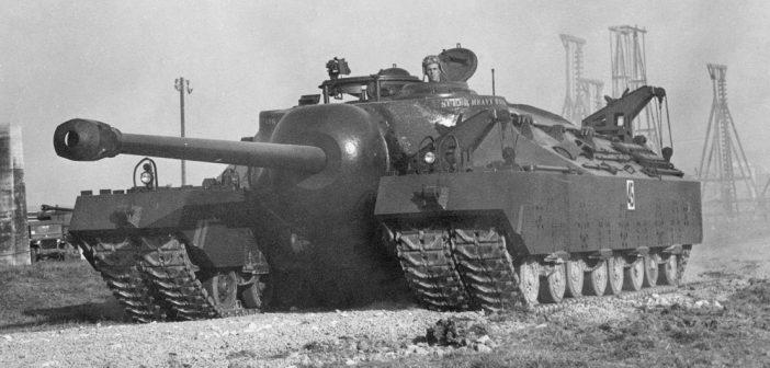 T28 Super Heavy Tank – amerykański super ciężki czołg szturmowy