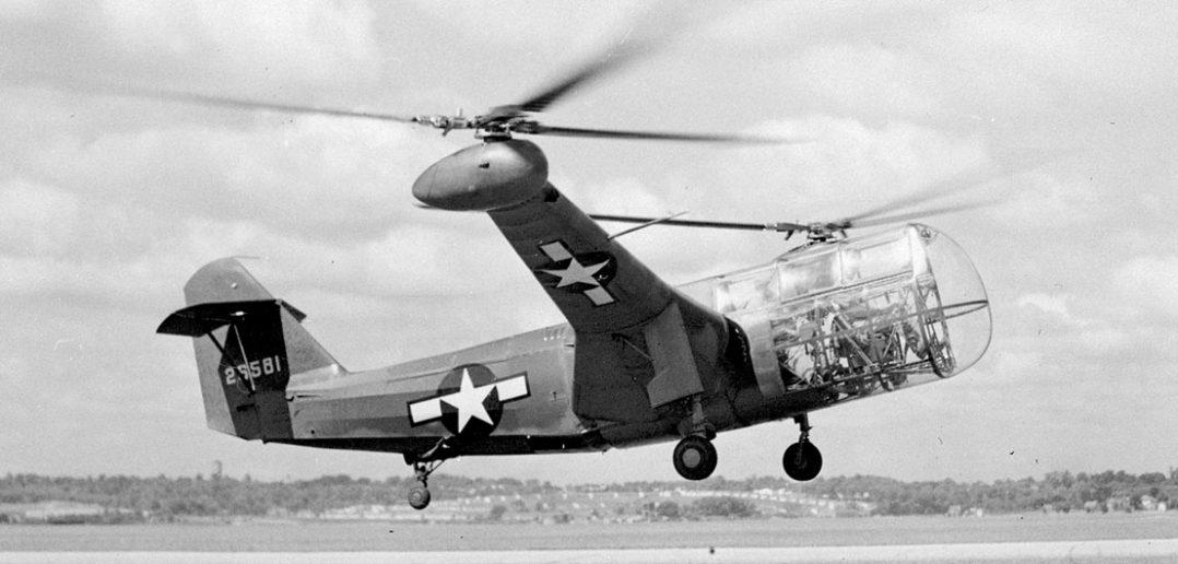 Zapomniany śmigłowiec Platt-LePage XR-1