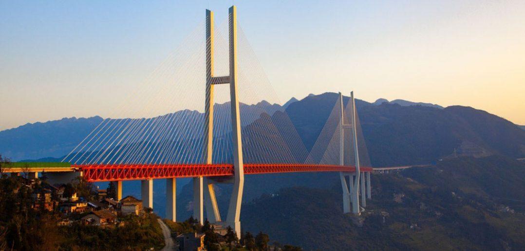 Most Duge - najwyższy most świata