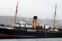 Wrak SS Kyle w zatoce Harbour Grace