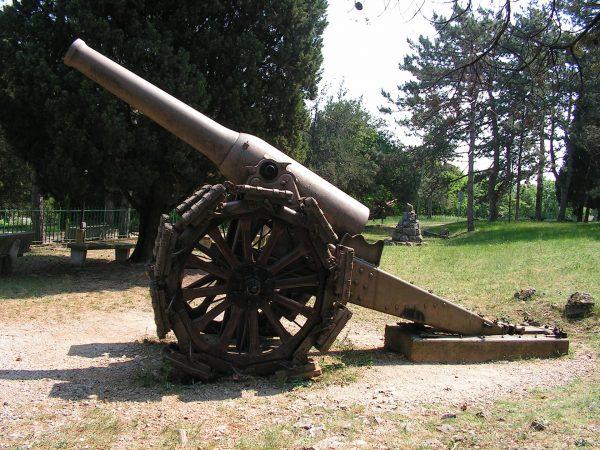 Cannone da 149/23 (fot. Wikimedia Commons)