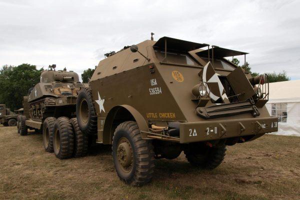 "M25 Tank Transporter ""Dragon Wagon"" współcześnie (fot. Alf van Beem)"
