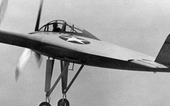 """Vought V-173 """"Flying Pancake"""" - eksperymentalny """"latający naleśnik"""""""