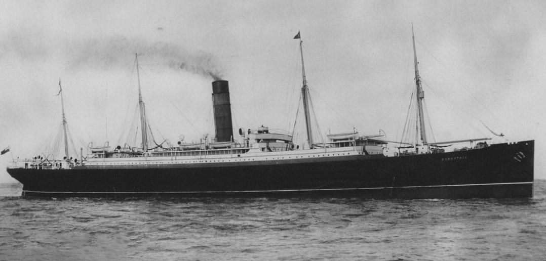 RMS Carpathia - niepozorny liniowiec i ostatnia nadzieja rozbitków z Titanica