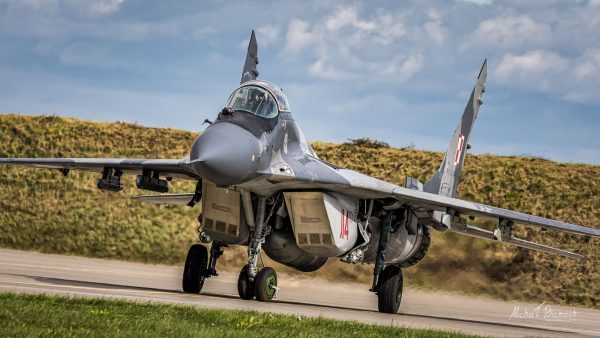 Polski MiG-29 (114) (fot. Michał Banach)