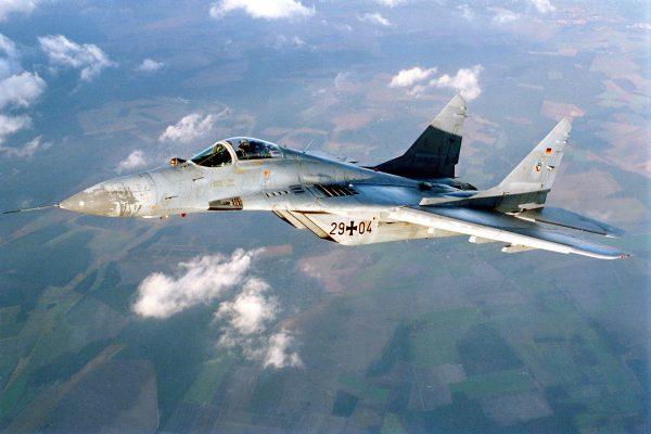 Niemiecki MiG-29 (fot. Bundeswehr-Fotos)