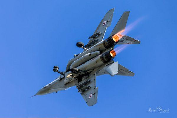 Polski MiG-29 (105) (fot. Michał Banach)