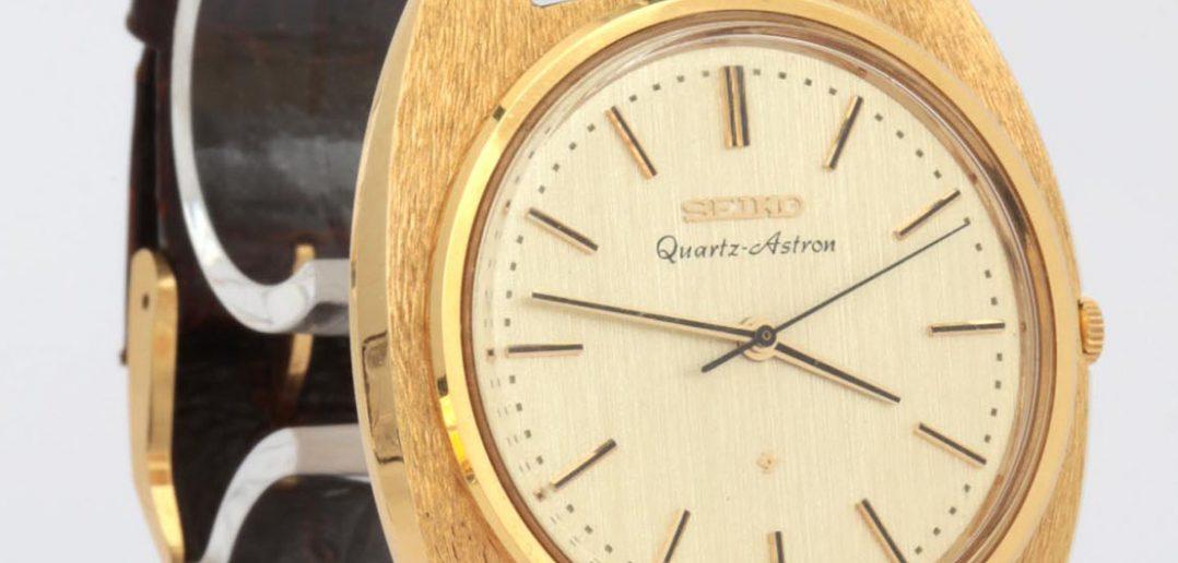 Seiko Quartz Astron 35SQ - pierwszy zegarek kwarcowy