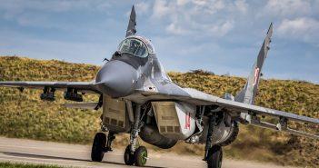 Rosyjski myśliwiec frontowy MiG-29 Fulcrum