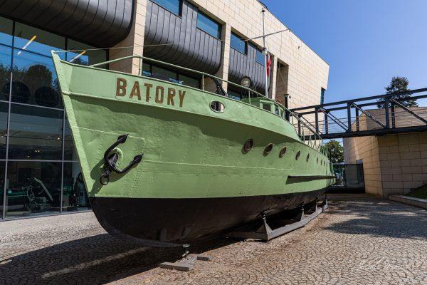 Kuter patrolowy Batory (fot. Michał Banach)