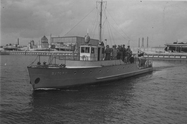 Kuter patrolowy Batory (fot. NAC)