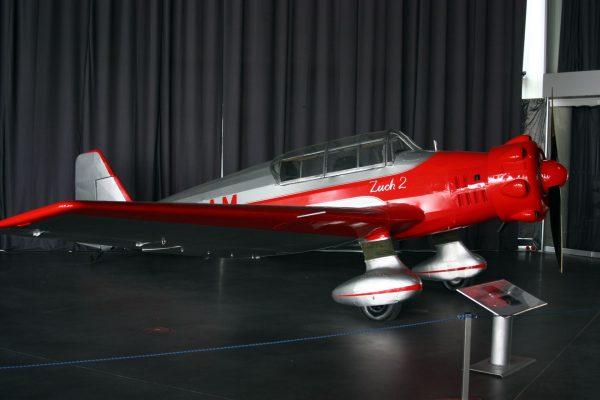 LWD Zuch 2 w Muzeum Lotnictwa Polskiego w Krakowie (fot. W2k2/Wikimedia Commons)