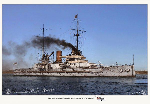 SMS Posen - drugi z pancerników typu Nassau, którego budowę rozpoczęto