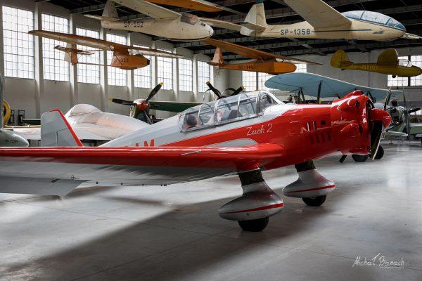 LWD Zuch 2 w Muzeum Lotnictwa Polskiego w Krakowie (fot. Michał Banach)