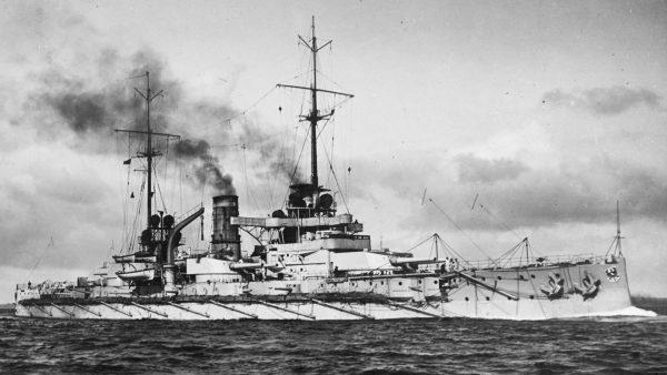 SMS Rheinland - pierwszy z pancerników typu Nassau, którego budowę rozpoczęto