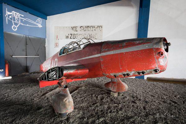 LWD Zuch 1 w Muzeum Lotnictwa Polskiego w Krakowie (fot. Michał Banach)