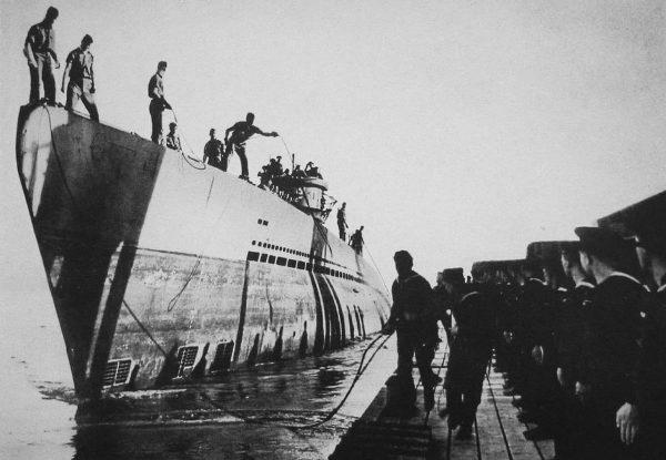 Jeden z okrętów typu XIV
