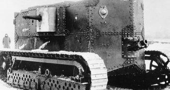 Holt Gas-Electric - pierwszy amerykański czołg